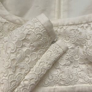 Zimmermann Tops - Zimmerman Cropped Cotton Lace Top
